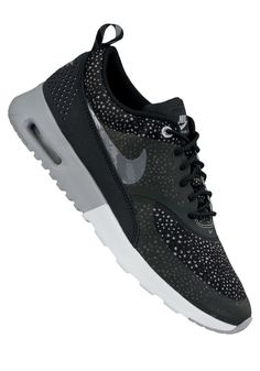 nike air max thea black print