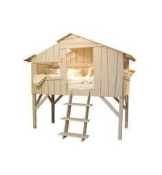 bed and tree house for kids
