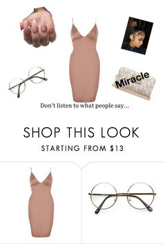 """""""Got all These nig**on me"""" by miraclefaust1 ❤ liked on Polyvore featuring River Island, ZeroUV and Michael Kors"""