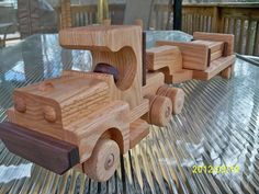 Tractor Lowboy Trailer 8 Logs 2 removable gates by mikebtoys, $65.00