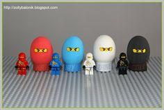 Żółty balonik: Ninjago