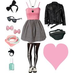 """Bubble Gum Pop"" by miki-blacktulipshop on Polyvore"
