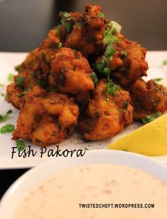 Spicy Fish Fritters Otherwise Known as Fish Pakora