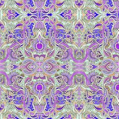 In the Court of the Paisley King fabric by edsel2084 on Spoonflower - custom fabric