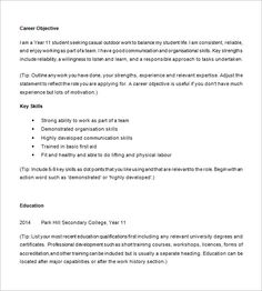 Fall Semester 2017 10+ High School Resume Templates – Free Samples, Examples, & Formats Download! | Free & Premium Templates