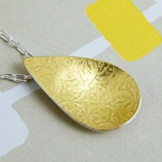 beautiful etched jewelry by Simone Walsh.