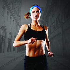 Wireless headphone headband lets you listen to music while you run without the hassle of having it fall off your head. Also keeps sweat and hair at bay.
