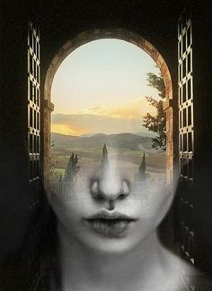 TUSCANY DREAM, ANTONIO MORA (aka mylovt) ~ a Spanish artist who combines with talent portraits photographed in various landscapes.