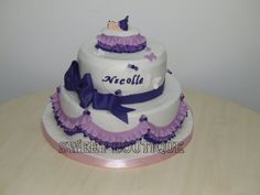 Tort de botez Baby shower cake
