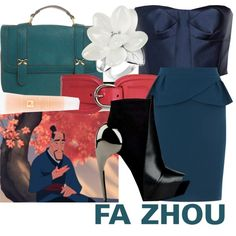 """Fa Zhou"" by mitomana on Polyvore"