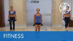 This fast paced, efficient program combines low impact cardio and sculpting into one perfect workout that hits every muscle including those hard to tone a. The Firm Workout, Workout Videos, Exercise Videos, Workouts, Toned Abs, Get Moving, Cross Training, Feel Better, Cardio