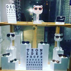 #vitrina#óptica Óptica El Oso De Anteojos