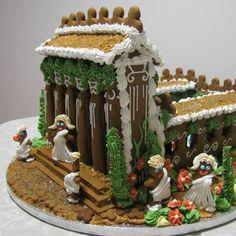 RESIZED1220_Most Creative_Jill Albanese_A Roman Villa, a gingerbread toga party!