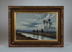 Original Orientalist Painting by Edwin Lord Weeks (1849-1903) / Arabian-Islamic #Impressionism