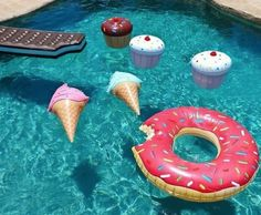 7 of the Coolest Pool-floatables You Need!
