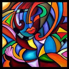 Contemporary Cubism Art