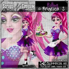 """""""ROLLING 1 CU"""" by Angelica S. http://scrapsncompany.com/index.php?main_page=product_info&cPath=526&products_id=11651"""