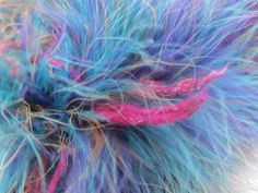 Noro Yarn Super Feather Boa Luxury Trim Color 2 Multi 2 sks Great Deal #Noro #HandDyed