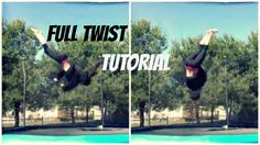 How To Do A Full Twisting Layout