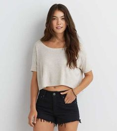 Don't Ask Why Cropped T-Shirt