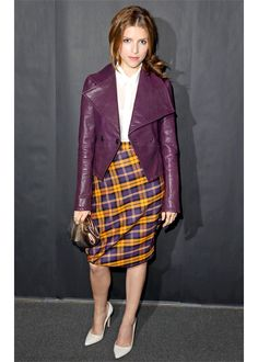 Anna Kendrick's pointy-toed pumps