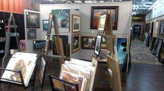 Inside ARTe Gallery...