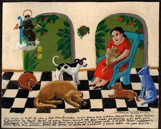 in Art, Art from Dealers & Resellers, Folk Art & Primitives