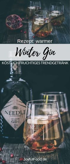 Ad - recipe for super delicious and fruity warm winter gin. Refined with apple, pomegranate and cinnamon. The trend drink for cold days. # mulled wine # drinkInformations About Warmer Winter Gin köstlich fruchtig PinYou can easily use Winter Cocktails, Winter Drink, Winter Food, Cocktail Drinks, Cocktail Recipes, Alcoholic Drinks, Four Loko, Le Gin, Grenade