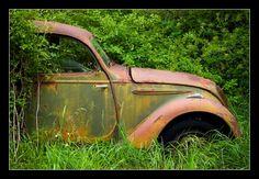 citroen peugeot renault épaves voitures abandonnées aba | Super2CV