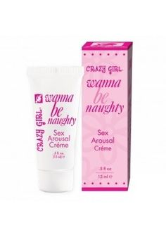 Crazy Girl Wanna Be Naughty Arousal Creme  With super girlie packaging & a great price point, Crazy Girl Body & Boudoir offers a fantastic range of products focused on boosting sexy self-confidence & inspiring sensual moments, making this line a must for those catering to the flirty, curious & open minded female! To buy,Click: http://itsmuahlife.com/foreplay/pheromones-attractants/crazy-girl-wanna-be-naughty-arousal-creme.html For other premium products,Visit@ www.itsmuahlife.com