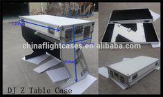 US $69 - 99 / Piece Flight Case Furniture - Foldout DJ Stand 1300mm W x 600mm D x 950 mm H