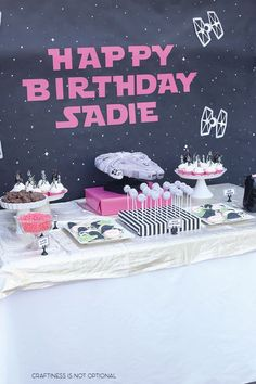 This party was a year in the making…my girls usually like to pick their birthday party themes a year ahead of time..I don't mind because it gives me lots of time to plan! I threw out a few ideas last