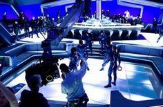 Tron: Legacy Scene Image, Scene Photo, Disney Go, Wasteland Warrior, Tron Legacy, Famous Architects, New Trailers, New Movies, On Set