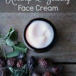 Rosehip & Ginseng Face Cream Recipe for Mature or Dry Skin #DiyFaceCream Psoriasis Treatment Cream, Eye Treatment, Organic Face Moisturizer, Face Cleanser, Dry Skin Causes, Natural Face Cream, Cream For Oily Skin, Best Face Products, Body Products