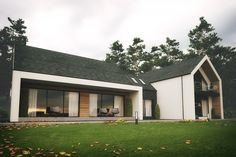 The Dromintee replacement house is nestled within a number of Old Irish Homesteads at the foot of Slieve Gullion forest park, Newry, County Armagh. Replacing a 19th Century 2 room family home with a modern