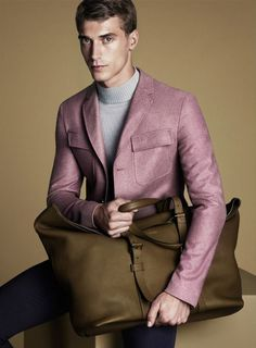 Dusty Rose, Grey Olive, Pale pale blue..... swoon. Gucci Fall 14 campaign with the beautiful Clement Chabernaud.