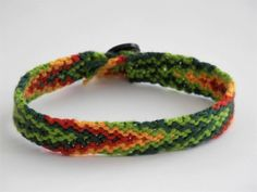 Friendship Bracelet Woven Knotted Braided Handmade Tribal Hippie Boho-chic Arm-party Arm-candy Aztec Macrame Peruvian Brazilian Festival by TheBraceletSpot on Etsy