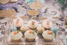 Too pretty to eat! Cupcakes by cakesfrommykitche.... Cake pops by popaliciouscakepo...,  Photography by jesspetrie.com