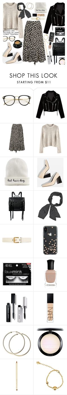 """""""Paranoid 21-1-2018"""" by anamarija00 ❤ liked on Polyvore featuring The Kooples, Proenza Schouler, Mudd, Topshop, McQ by Alexander McQueen, Gucci, Kate Spade, Deborah Lippmann, Bobbi Brown Cosmetics and NARS Cosmetics"""
