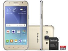 Smartphone Samsung Galaxy J5 Duos 16GB Dual Chip - 4G Câm 13MP + Selfie 5MP…