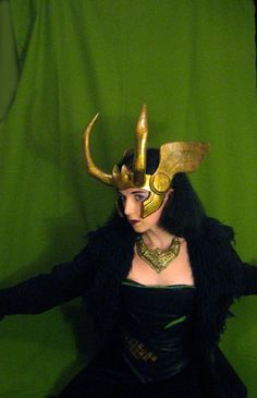 Loki Agent of Asgard Headpiece Style 3  by ThePotionsMistress