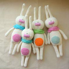 Купить Зайцы-Кролики - заяц, вязаная игрушка, игрушка крючком, игрушка в подарок, игрушка