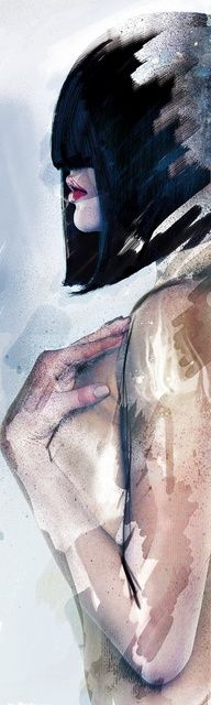 Aquar'elle by Adrien DONOT, via Behance