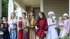 Model call returning for American Girl Fashion Show