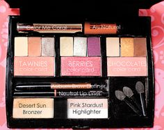 Compact pro with three color card looks.  Mary Kay makeup. www.facebook.com/beautifulyoumarykay