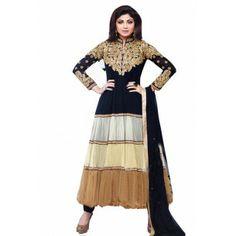 http://www.valehri.com/black-white-cream-anakali-style-shilpa-shetty-salwar-suit-1358