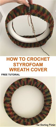 Most up-to-date Absolutely Free Fall Wreath crochet Popular The fall time of year delivers by using it warm solid colors, feathery appearance and several pick s Crochet Christmas Wreath, Crochet Wreath, Crochet Fall, Holiday Crochet, Free Crochet, Fall Patterns, Easy Crochet Patterns, Crochet Ideas, Fall Craft Fairs