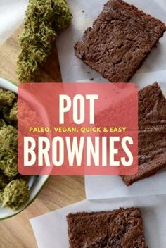 The World's Best (and healthiest!) Paleo Pot Brownies
