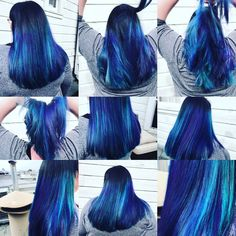 Vivid mermaid color by Jikaiah S. Treated with @randcohair Analog: cleansing foam to prevent vivid color from fading.  #oribeobsessed #randco #oribe #sfsalon #creativecolor #wella #guytang #sfcolorist  #mermaidhair #analog #revampsalonsf #behindthechair #modernsalon #hairdresser #lbp #regram #sanfrancisco