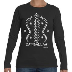 Voodoo Damballah Ladies Long-Sleeve Shirt